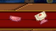 Capsule broked