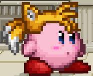 SSF2 Tails Hat Kirby