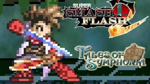 Super Smash Flash 2 Lloyd Irving - Tales of Symphonia