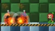 Bomberman uses Bomb Detonate