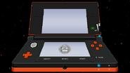 3DS Orange Black