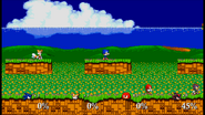 Emerald Hill Zone in the game