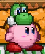 SSF2 Yoshi Hat Kirby