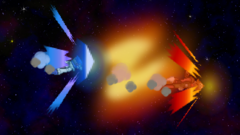 The distance comparisons of Fox's Fire Fox and Falco's Fire Bird.