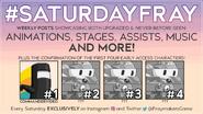 SaturdayFray Announcement