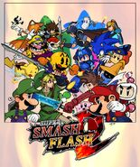 Super Smash Flash 2 Beta Poster