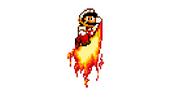 Flaming Jump Punch