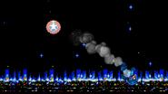 Bumper into Mega Man