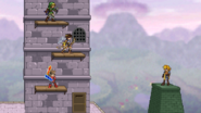 3 on 1 heroes on Hyrule Castle
