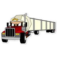 UME I Can Also Be A Truck Sticker