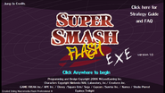 Super Smash Flash - Title Screen