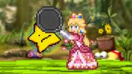 Peach attacking Starfy (demo)