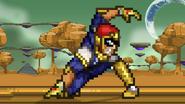 Falcon Kick Land