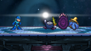 Mega Man uses Black Hole Bomb