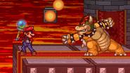 Mario stealing the Beam Rod
