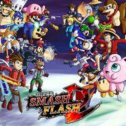 Super Smash Flash 2 Beta Banner