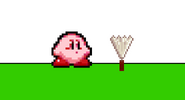 Kirby and the Fan
