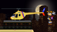 Porky's helicopter