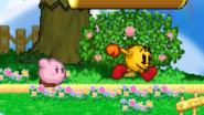 Pac and kirby dashing