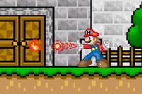 Mario's standard attack, Fireball.