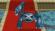 Metagross about to use Earthquake