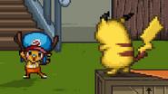 Pikachu and Chopper