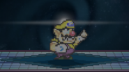 Wario and the garlic