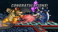 SSF2 - All-Star mode - Bowser (early)