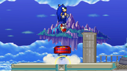 SSF2 Sonic - Spring Jump