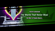 Notice - The World That Never Was