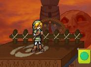 Link plays Ocarina