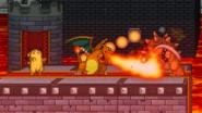 Charizard's flamethrower