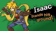 Splash screen - Isaac