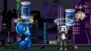 The two robots and the Energy Tanks