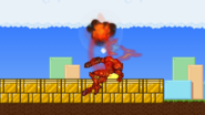 Gooey bomb explodes