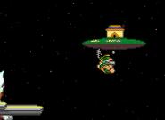 Starship Mario on Comet Observatory