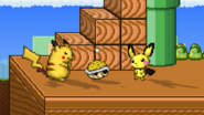 Yellow Shell in SSF2