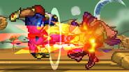 Falcon Kick attack