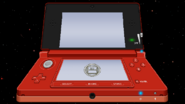 3DS Flame Red