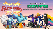 Fraymakers Kickstarter promotion