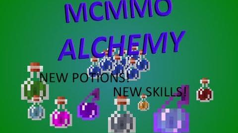 MCMMO ALCHEMY! New skill that adds NEW MINECRAFT POTIONS!-0