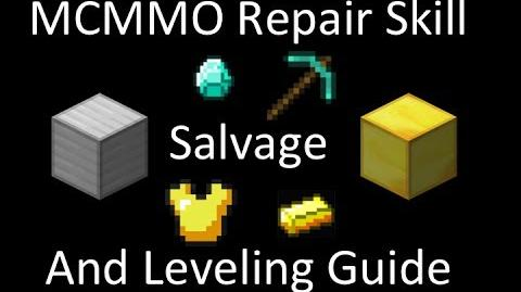 MCMMO Repair Skill, and How to Grind Repair
