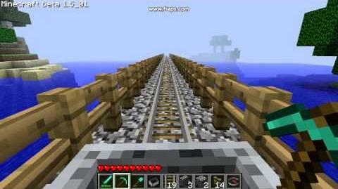 Minecraft 0001 My fail bridge.