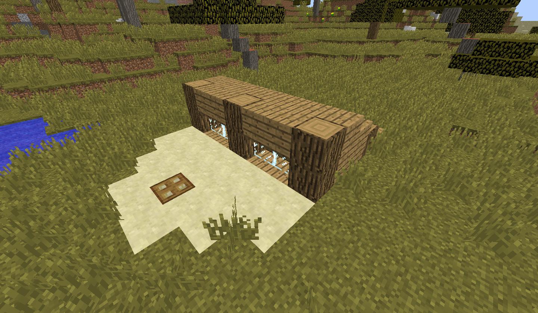 Stylized Wooden Shelter