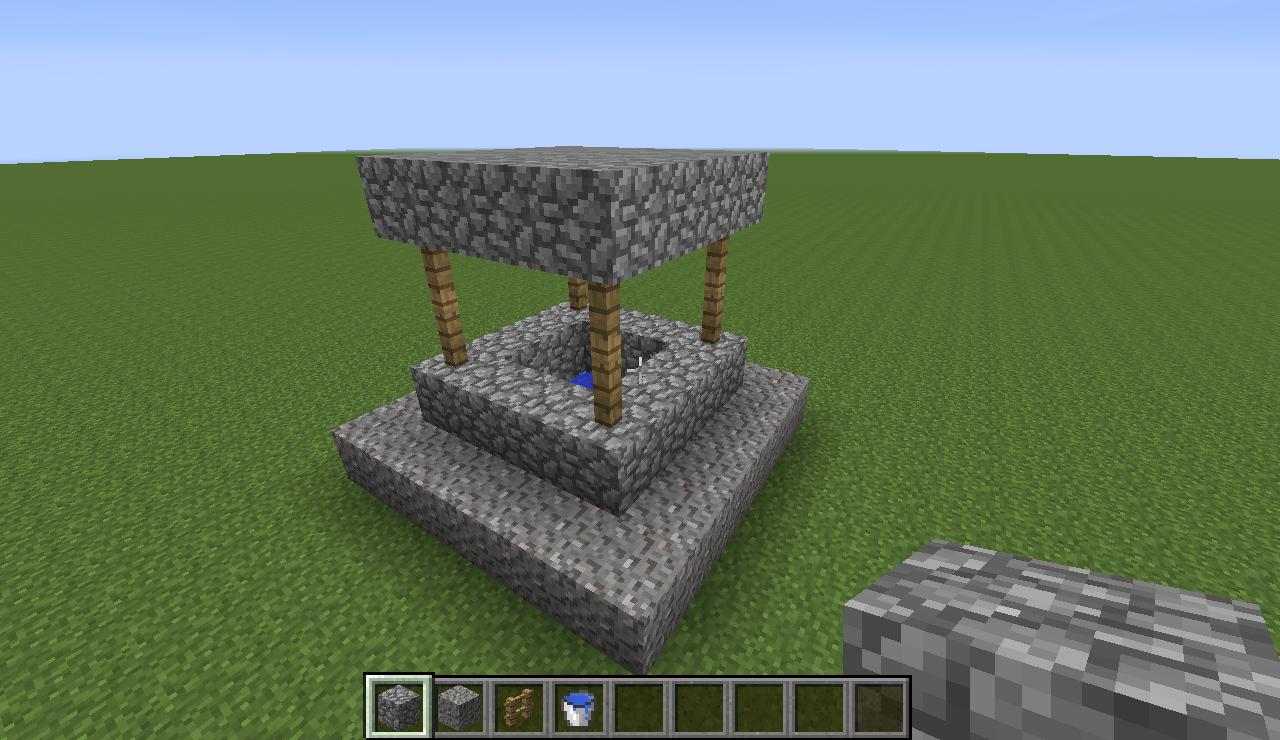 Tutorials/Creating a Village/Well  Minecraft Wiki  Fandom