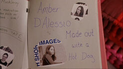 Amber D'Alessio Made out with a Hot Dog