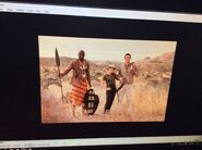 Cady living her last 12 years in Africa with Dad and an African warrior