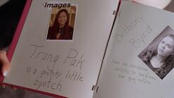 Trang Pak and Bethany Byrd in Burn Book