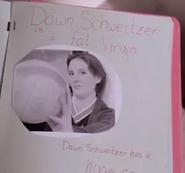 Dawn Schweitzer is a fat virgin and has a huge ass