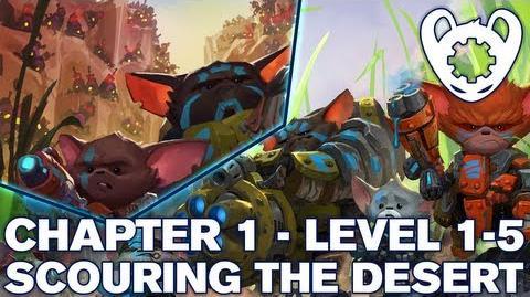 Mech Mice Chapter 1 Level 5 - Scouring The Desert